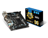 Mainboard MSI, S1150, B85I, Retail